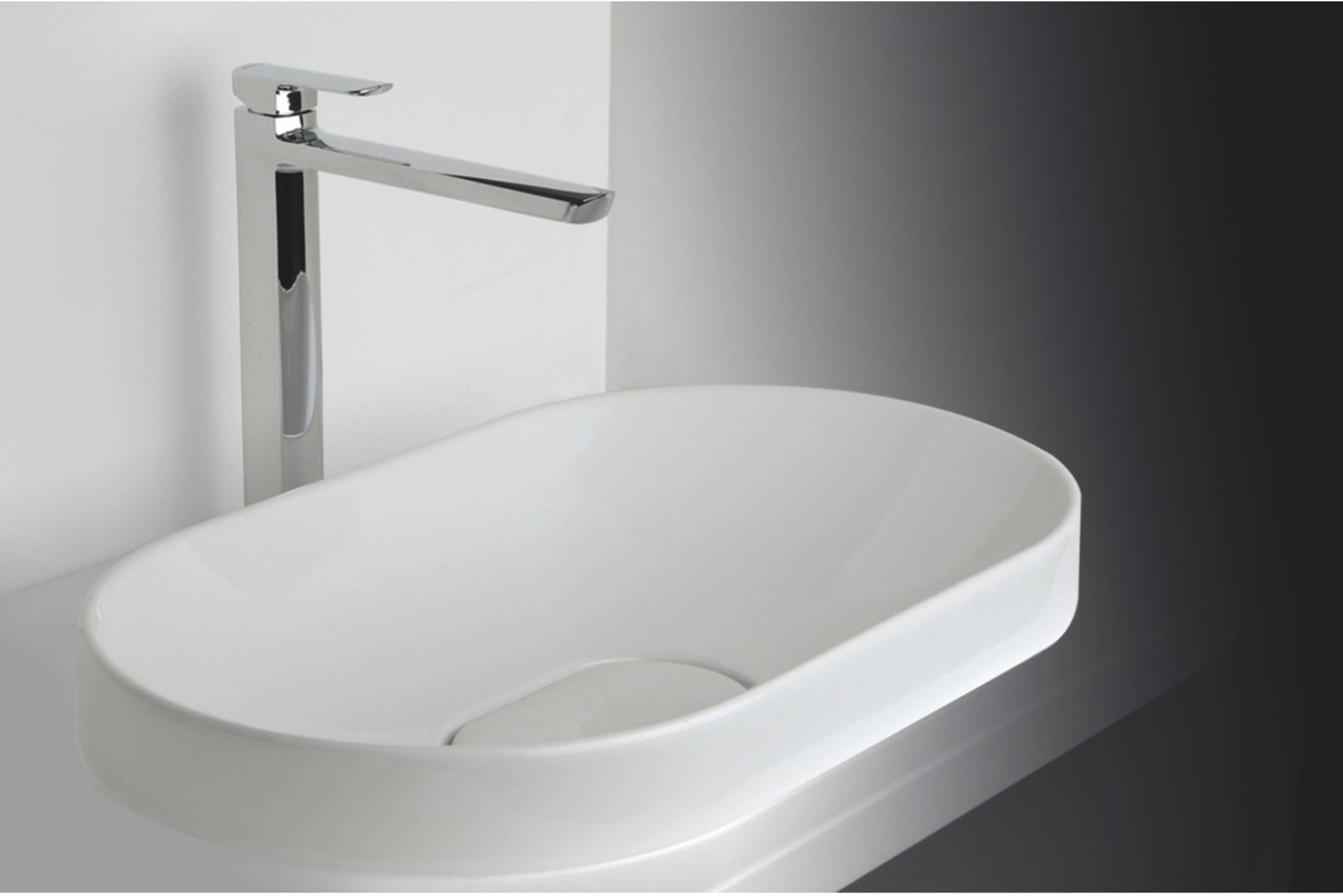 כיור אמבטיה לבן
