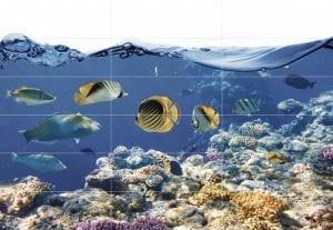 חיפויי פורצלן בעיצוב מימי בפרוייקטים מיוחדים